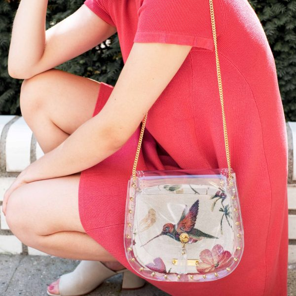 Design Transparent Handbags Streetstyle
