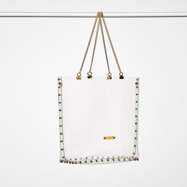 Shopper Gold Transparent